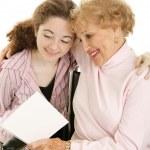Happy Mother's Day Grandma — Stock Photo