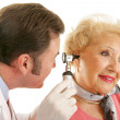 Senior Lady Gets Checkup — Stock Photo #6595104