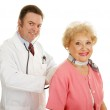 Senior Medical - Annual Physical — Stock Photo #6595108