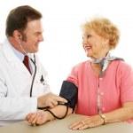 Senior Medical - Blood Pressure Normal — Stock Photo #6595110
