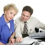 Accounting Series - Senior Woman — Stock Photo #6596547
