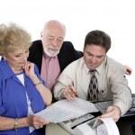 Accounting Series - Seniors & Taxes — Stock Photo #6596548