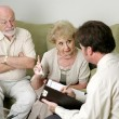 Stock Photo: Counseling - You Won't Believe What He Does!