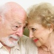 Senior Couple Flirting — Stock Photo #6596584