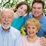 Close Knit Family — Stock Photo