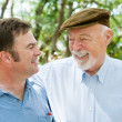 Father & Son Laughter — Stock Photo #6596666
