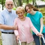 Happy Grandparents — Stock Photo