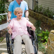 Stock Photo: Nursing Home - New Arrival