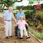 Nursing Home Gardens — Stock Photo