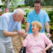 Stock Photo: Nursing Home Visit