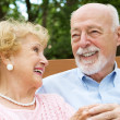 Senior Couple - Love and Laughter — Stock Photo #6596725