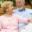 Stock Photo: Senior Couple Deeply in Love