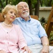 Seniors Couple Relaxing - Stock Photo