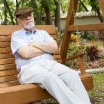 Senior Man Relaxing — Stock Photo