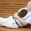 Senior Siesta — Stock Photo