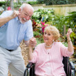 Seniors Conquering Adversity — Stock Photo #6596787