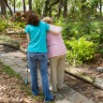 Teen Helping Senior — Stock Photo #6596818