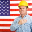 American Worker Pledge — Stock Photo #6596839