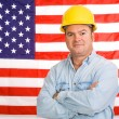 图库照片: American Working Man