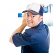 Cheerful Water Delivery Guy — Stock Photo #6596852