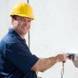 Electrician at Work — Stock Photo #6596906