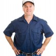 Handsome Service Worker — Stock Photo #6596912