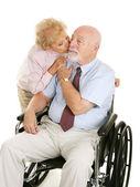 Devoted Senior Couple — Stock Photo