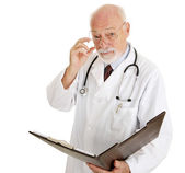 Doctor - Serious About Your Health — Stock Photo
