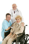 Doctor Nurse & Patient — Stock Photo