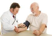Senior Medical - Blood Pressure — Stock Photo