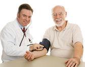 Senior Medical - Good Checkup — Stock Photo