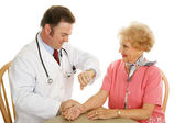 Senior Medical - Pulse Check — Stockfoto