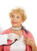 Vedoucí lékařské vyšetření — Stock fotografie