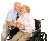 Seniors - Loving Gesture — Stock Photo
