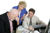 Accounting Series - Financial Worries — Stock Photo