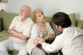 Counseling - Not Speaking — Stock Photo