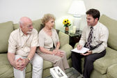 Counseling or Sales Call Overview — Stock Photo