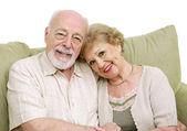 Senior Couple At Home — Stock Photo