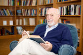 Educated Senior Man — Stock Photo