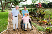 Nursing Home Gardens — Stock Photo