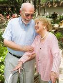 Seniors - Trust and Love — Stock Photo