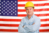 American Working Man — Foto de Stock