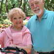 Happy Active Seniors - Stockfoto