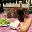 Picnic In The Country - Stock Photo