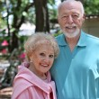 Senior Couple In Garden — Stock Photo #6610514