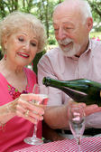 Champagne for Her — Stock Photo
