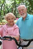 Gelukkig actieve senioren — Stockfoto