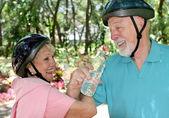 Seniors Fitness & Fun — Stock Photo
