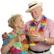 Cocktails on Vacation — Stock Photo