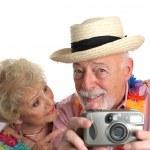 Vacation Couple Self-Portrait — Stock Photo #6628540